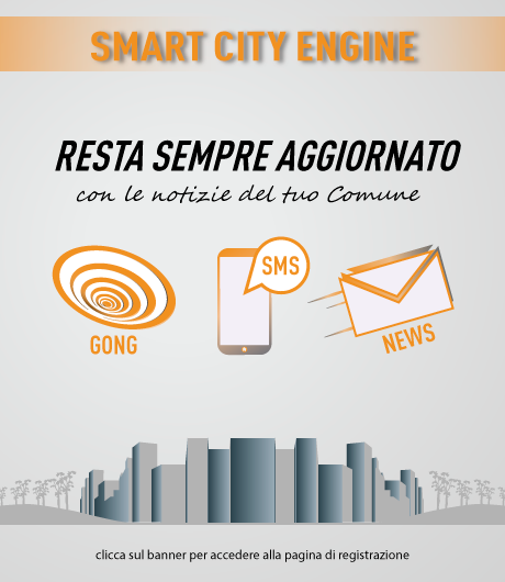 Registrati al servizio Smart City Engine